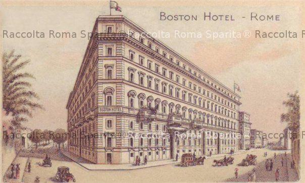 Roma sparita foto storiche di roma hotel boston porta - Via di porta pinciana 34 roma ...