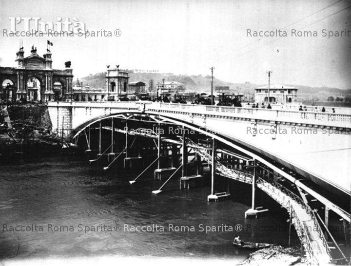 Roma sparita ponte risorgimento for Disegni di ponte anteriore