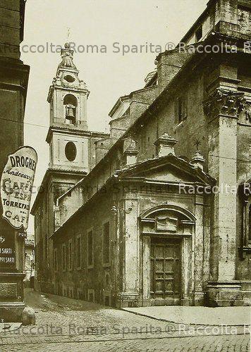 Roma sparita vicolo del campanile a borgo for Invertire piani di una casa di una storia e mezzo