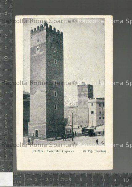 Torre dei Capocci su via Giovanni Lanza
