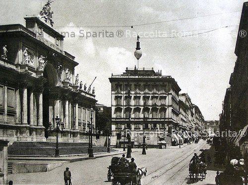 Roma sparita via nazionale for Palazzo delle esposizioni via nazionale roma