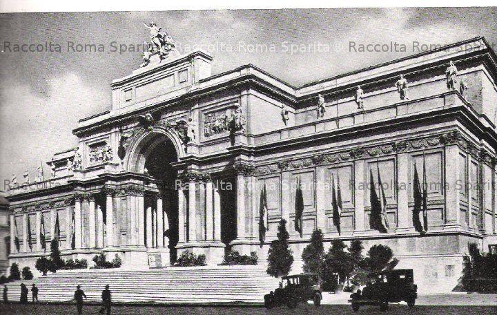 Palazzo delle esposizioni archives roma sparita foto for Mostra palazzo delle esposizioni