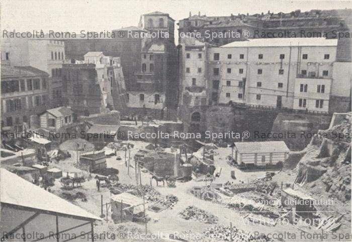 Roma sparita piazza del parlamento for Parlamento montecitorio