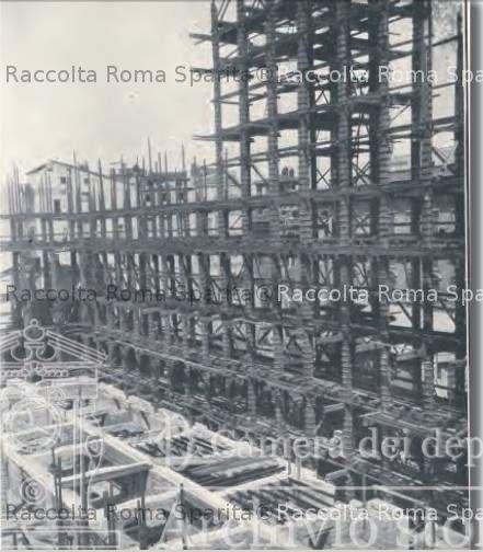 Roma sparita palazzo montecitorio for Indirizzo camera dei deputati roma