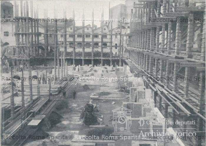 Roma sparita palazzo del parlamento italiano for Palazzo parlamento italiano