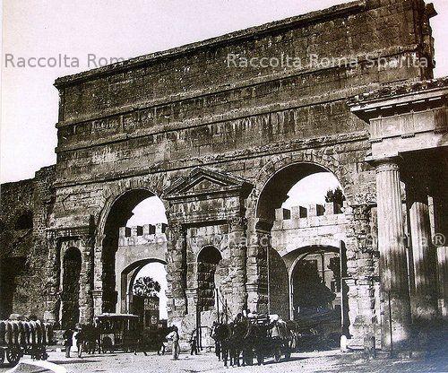 Roma sparita foto storiche di roma porta maggiore for Porta maggiore