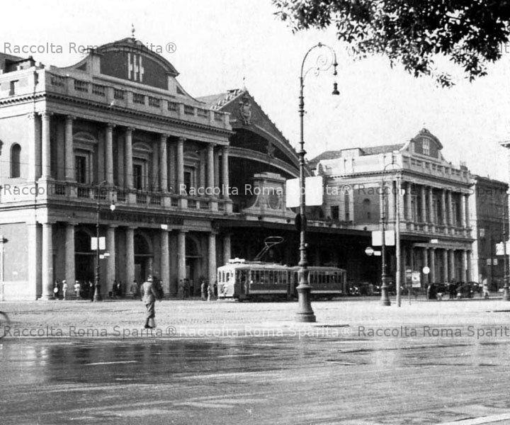 Roma sparita foto storiche di roma stazione termini for Affitto ufficio roma stazione termini