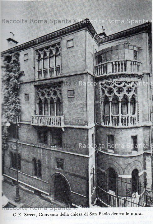Roma sparita convento di san paolo dentro le mura for Dentro le mura