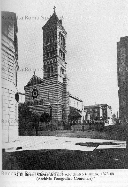 Roma sparita chiesa di san paolo dentro le mura for Dentro le mura