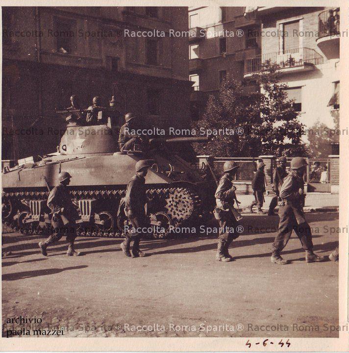 Gli alleati entrano a roma - Corso di design roma ...