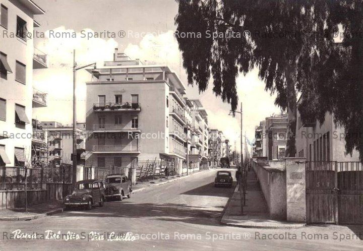 Roma sparita via lucilio for Piazza balduina