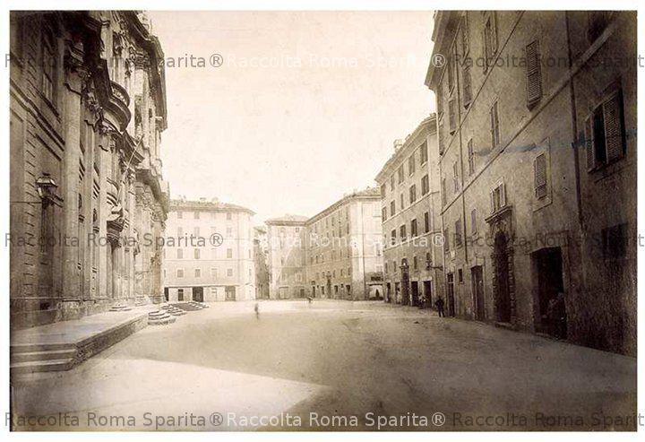 Roma Sparita Piazza Della Chiesa Nuova