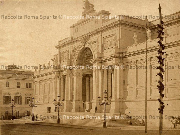 Roma sparita via nazionale palazzo delle belle arti for Palazzo delle esposizioni via nazionale roma