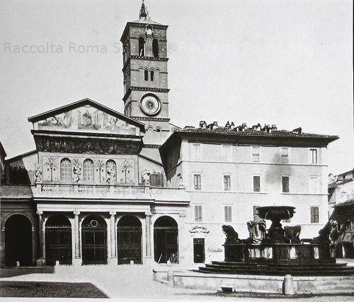 Santa Maria in Trastevere.