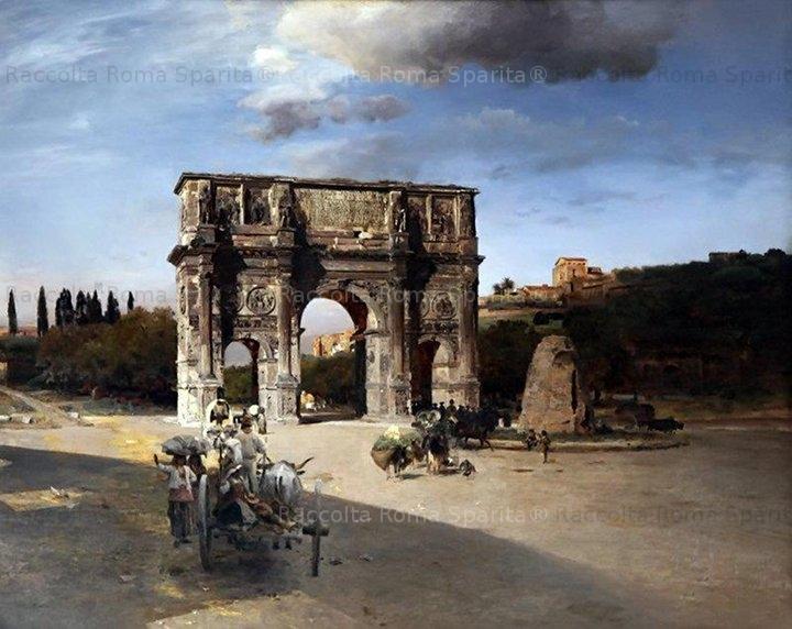 Arco di Costantino e Meta Sudans