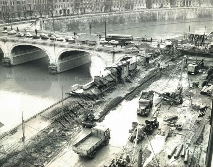 Lungotevere dei Mellini e ponte Cavour