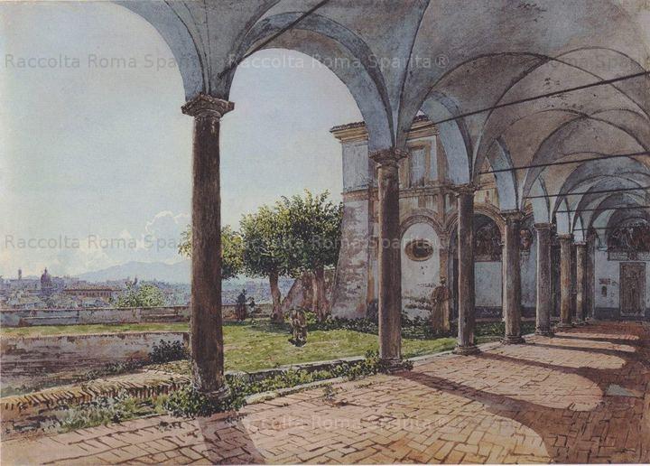 Vista dal Monastero di Sant'Onofrio