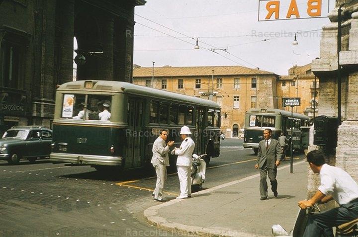 Via Nazionale, angolo via Torino.