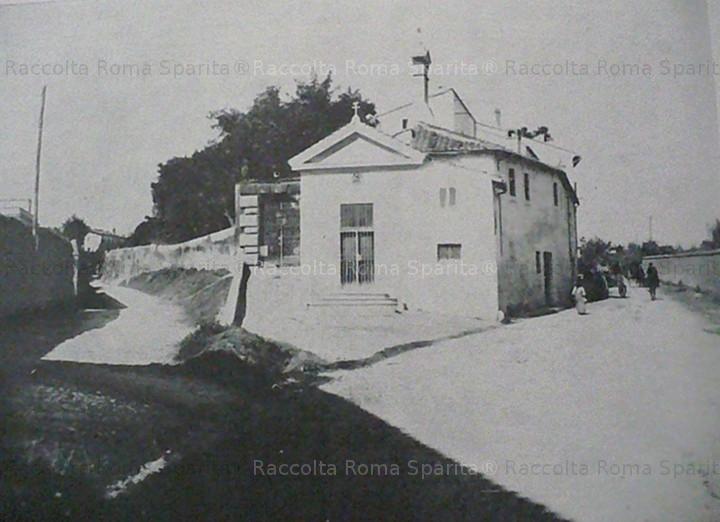 Bivio tra Via Aurelia e la Via della Madonna del Riposo
