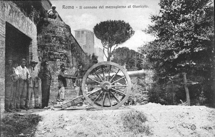 Gianicolo - Il cannone di mezzogiorno