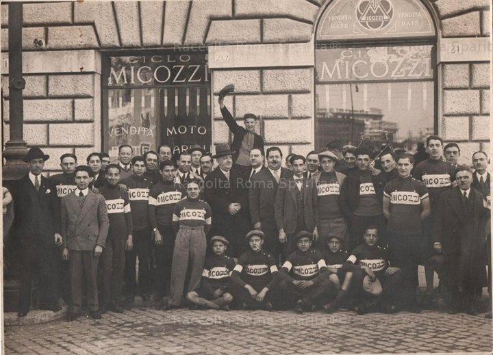 """Via Napoleone III - Società Ciclistica """"Micozzi"""""""