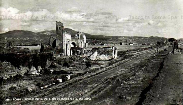 Via Appia Antica - Villa dei Quintili