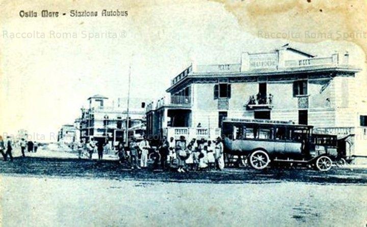 Lido di Ostia - stazione degli autobus