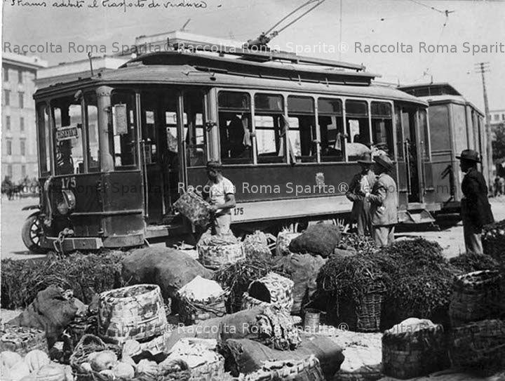 Mercati Generali, il tram per il trasporto di derrate alimentari