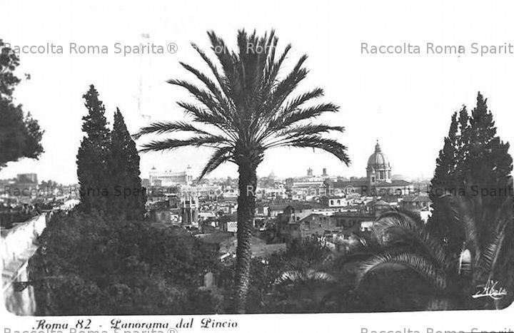 Panorama dal Pincio
