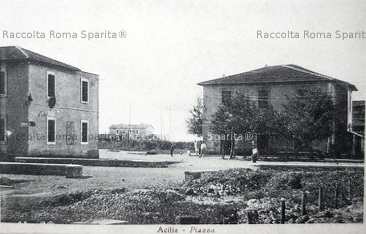 Una piazza di Acilia
