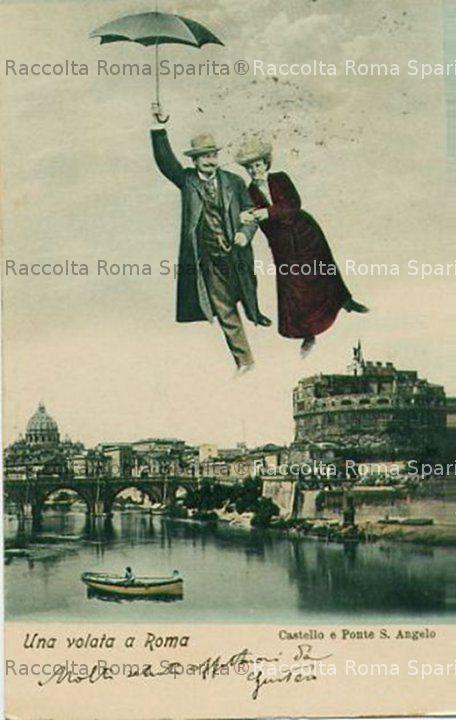 Castel Sant'Angelo, e San Pietro