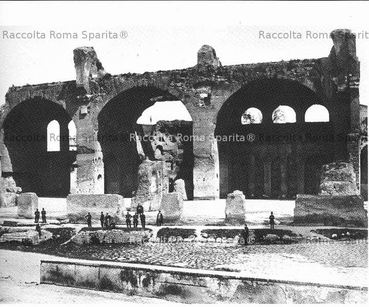 Foro Romano - Basilica di Massenzio