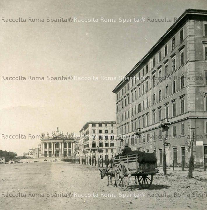 Viale Carlo Felice e basilica di San Giovanni