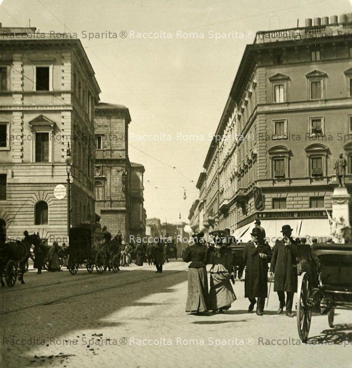 Corso Vittorio Emanuele II e Largo San Pantaleo