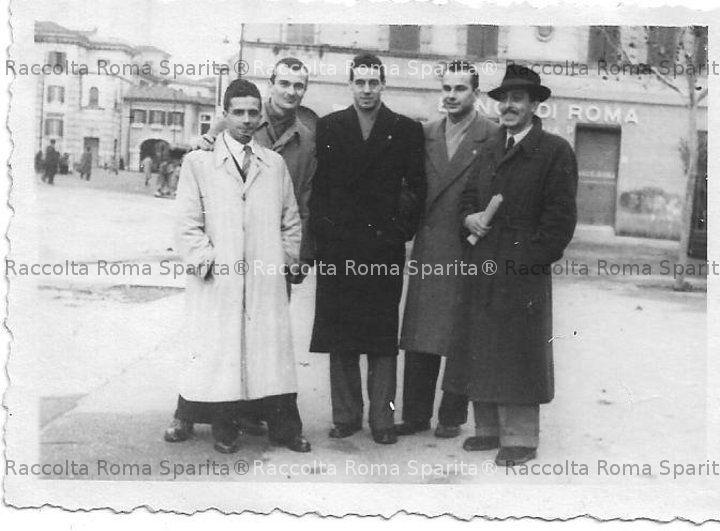 Gruppo di amici a Montesacro