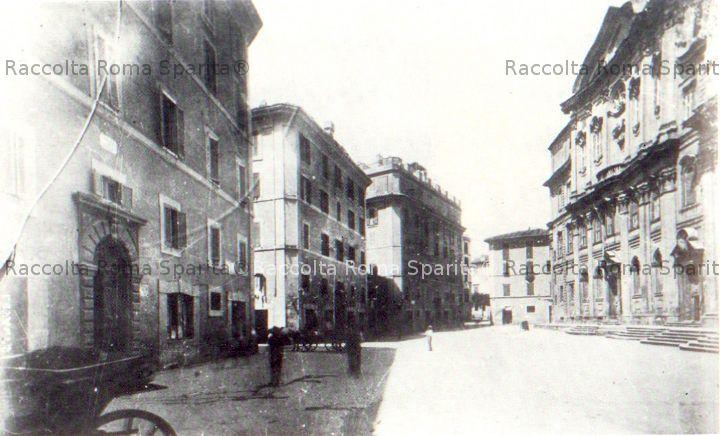 Corso Vittorio a piazza della Chiesa Nuova