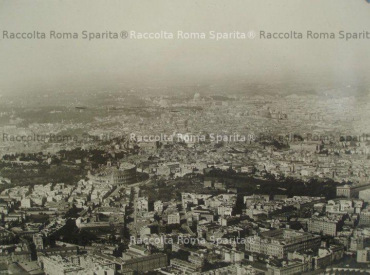 Vista aerea di Roma