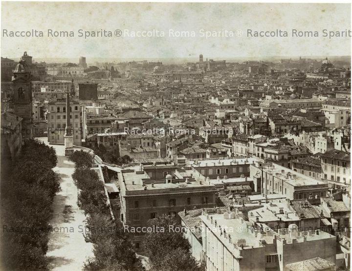 Panorama da Villa Medici