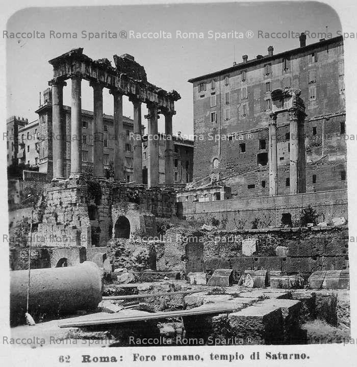Foro Romano - Tempio di Saturno