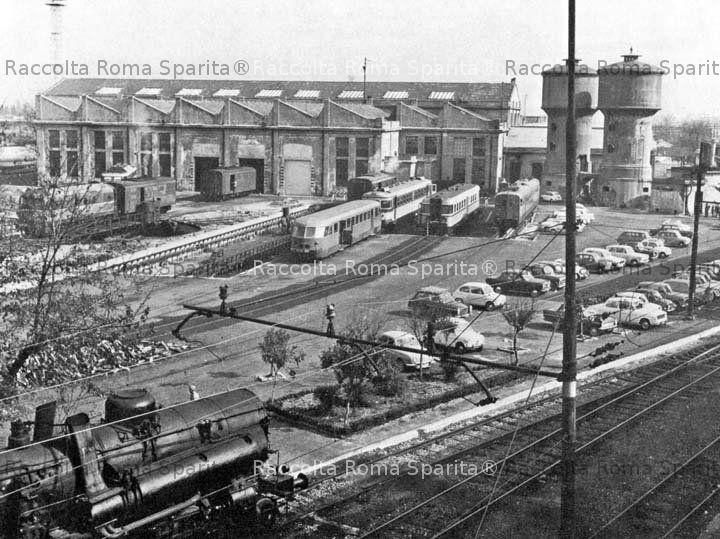 Roma sparita deposito di san lorenzo for Piano di deposito