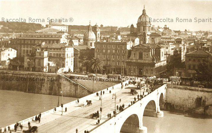 Ponte Cavour e le chiese di San Girolamo degli Schiavoni e San Rocco