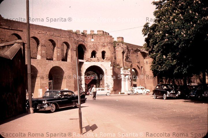 Via Vittorio Veneto e Porta Pinciana
