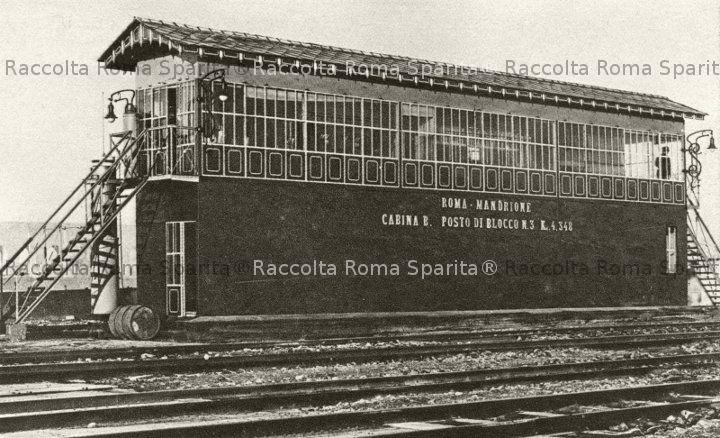 Cabina di Blocco di Roma Mandrione