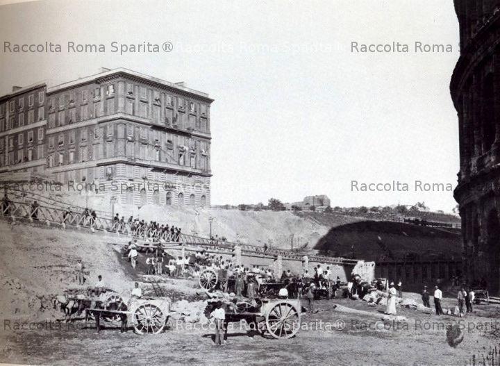 Scavi al Colsseo