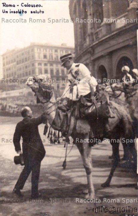 Mussolini e Gabriele D'Annunzio