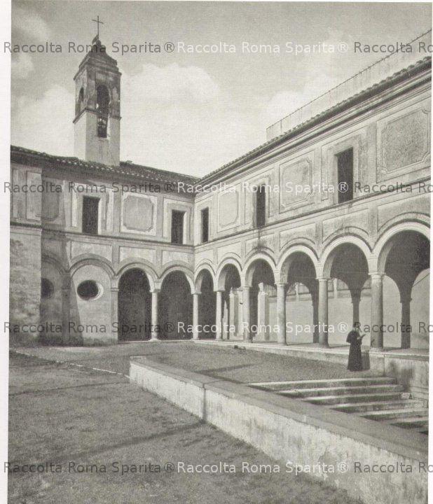 Chiostro e convento della chiesa di S.Onofrio al Gianicolo