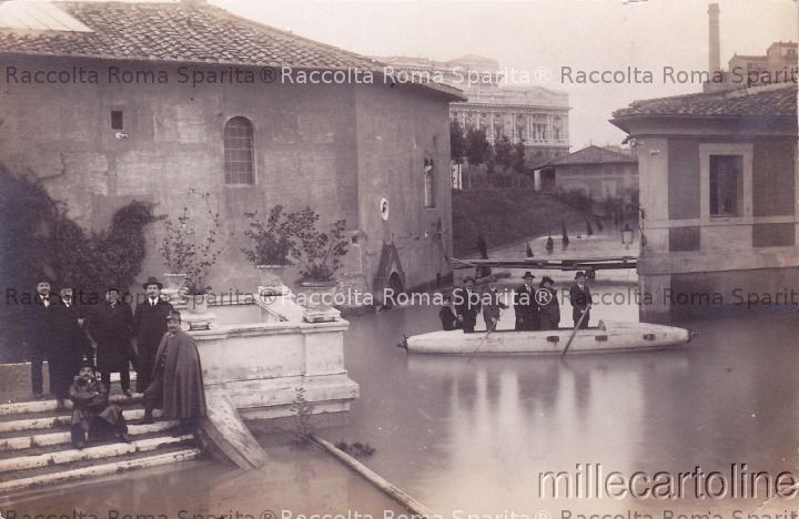 Inondazione a Castel Sant'Angelo