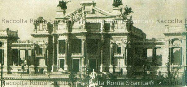 Roma sparita piazza d 39 armi - Architetto palazzo congressi roma ...