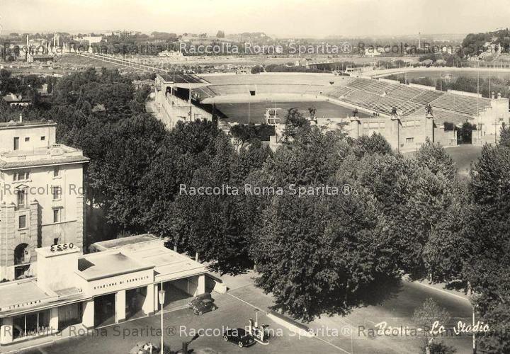 Viale Tiziano e Stadio Nazionale