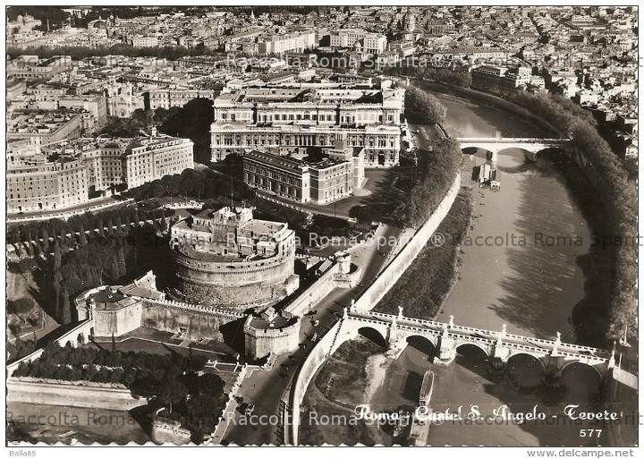 Il Tevere e Castel Sant'Angelo